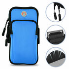 Universal Sport Running Cycling Arm Band Case For Cell Phone Holder Zipper Bag