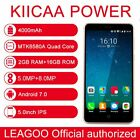 "Leagoo Kiicaa Power 5.0"" 3g Smart Phone Android7.0 Quad Core 2+16gb 4000mah Gift"