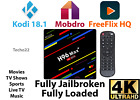 H96 Pro MAX Ultra HD Android 8.1 Quad Core 4GB 32/64GB Smart TV Box  KODI 18.1
