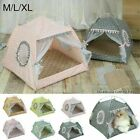 Mat Portable Pad Detachable Tent Cooling Cat Bed House Summer Pet Sleeping New