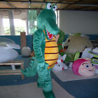 Crocodile Mascot Costume Suit Cosplay Party Fancy Dress Outfit Adult Size Parade