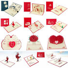 1pcs 3d greeting cards father s day birthday wedding anniversary invitation card