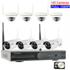 Vcamdo WIFI Home Surveillance 1080P Wireless Security Camera System Hard Drive