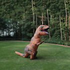 US seller Adults Kid Inflatable T-REX Costume Dinosaur Halloween Blow up Outfits