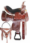 Classic Roping Ranch Western Childrens Youth Trail Western Horse Tack Used 12 13