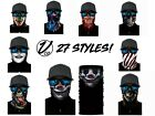 Внешний вид - Face Balaclava Scarf Neck Fishing Shield Sun Gaiter Uv Headwear Mask 26 Styles