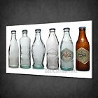 VINTAGE RETRO COCA COLA BOTLES COLLECTION BOX CANVAS PRINT WALL ART PICTURE £24.99  on eBay
