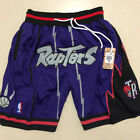 Toronto Raptors Vintage Basketball Game Shorts NBA Men's NWT Stitched Leonard