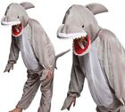 Childrens Kids Grey Baby SHARK Animal Sea Ocean Fancy Dress Costume Age 3 - 13