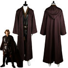 Star Wars Jedi Anakin Skywalker Sith Darth Vader Cosplay Costume Cloak Outfit $68.02 USD on eBay