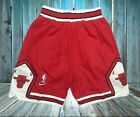 Chicago Bulls Vintage Basketball Game Shorts NBA Men's NWT Stitched on eBay