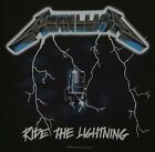 Metallica T-Shirt Ride The Lightning thrash metal rock Official XXL 2XL Last NWT image