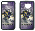 BALTIMORE RAVENS PHONE CASE COVER FITS iPHONE 7 8+ XS MAX SAMSUNG S10 S9 S8 S7 $13.5 USD on eBay