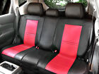 100% PU Leather Non-Slip Rear Car Seat Cushion Covers for Scion 255R Bk/Red on eBay