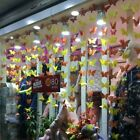 3d Paper Butterfly Hanging Garland Bunting Wedding Party Home Decoration Vu
