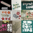 embossing flower edge border metal cutting dies stencils diy scrapbooking craft