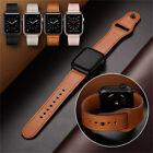 Luxury Leather Strap Band for Apple Watch Series 4 3 2 1 38/42mm 40/44mm image