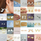 Fashion Women's Girl 925 Silver Sterling Earrings Cute Ear Stud Jewelry Gifts