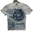 Star Wars Men's Millennium Falcon Licensed T-Shirt Heather Gray Size 2XL New $14.99 USD on eBay