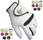 Longridge Golf Glove Left Hand Leather - Choose your Ball Marker!
