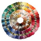 Cotton 36-50Pcs Mixed Color Embroidery Thread Cross Stitch Floss Sewing Skeins