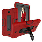 For Alcatel 3T/Joy Tablet 8 inch Case Hybrid Rugged Heavy Duty Shockproof Cover