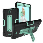 For Alcatel 3T Tablet 8 inch Case,Hybrid Rugged Heavy Duty Shockproof Full Cover
