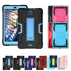 "For Alcatel 3T / A30 Tab 8"" Case,Hybrid Rugged Heavy Duty Shockproof Full Cover"