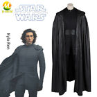 Star Wars 9 Kylo Ren Cosplay Costume Halloween Superhero Cosplay Suit Vest Cloak $100.6 USD on eBay