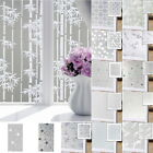 Waterproof Glass Frosted BathroomArt DIY Wall Sticker Adhesive Hang Stickers