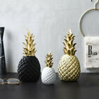 Nordic Modern Pineapple Resin Statue Ornament Home Decor Art Craft Decoration