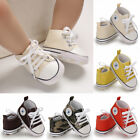 Kyпить USCute Newborn Kid Canvas Sneakers Baby Boy Girl Soft Sole Crib Shoes Prewalkers на еВаy.соm