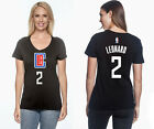 Kawhi Leonard Los Angeles Clippers 2 NBA Jersey Inspired Womens Graphic T