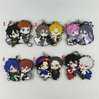 Anime HypnosisMic -Division Rap Battle Rubber keychain Straps cosplay