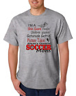 USA Made Bayside T-shirt Sports I'm A Soccer Mom Picture Takin' Uniform