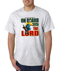 Gildan Short Sleeve T-shirt Christian Outfitters Skateboard Board With Lord
