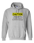 Gildan Hoodie Pullover Sweatshirt Caution Requires Constant Competition