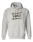 Limited Edition Made In 1962 Birthday Gildan Pullover Hooded Hoodie Sweatshirt