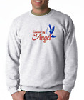 Gildan Crewneck Sweatshirt Christian Touched By An Angel