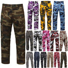 Внешний вид - Tactical BDU Pants Camo Cargo Uniform 6 Pocket Camouflage Military Army Fatigues
