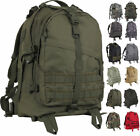Large Tactical Backpack Military Bag Army Assault Pack Transport MOLLE Knapsack