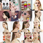 Fashion Women Earring Acrylic Geometric Resin Drop Dangle Stud Earrings Jewelry image
