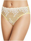 WACOAL 841191 EMBRACE LACE HiCut Brief Panty  NWT MSRP $27