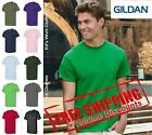 Gildan Mens Plain Blank Short Sleeve Solid 100% Cotton T Shirt 5000 up to 5XL image