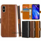 For Apple iPhone XS MAX /XR Luxury PU Leather Wallet Stand Thin Slim Case Cover