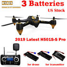 Hubsan H501S S Pro 5.8G FPV RC Drone Quadcopter 1080P Brushless Follow Me GPS US