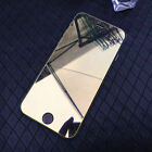 Full Mirror Tempered Glass Film Screen Protector For iPhone 12 11 Pro Max Xs Xr