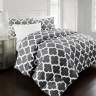 Restoration Collection Goose Down Alternative Comforter with Quatrefoil Pattern image