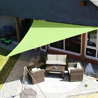 2/1x Sun Shade Sail Garden Patio Awning Canopy Sunscreen 98% UV Block Waterproof
