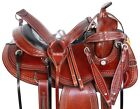 Trail Western Horse Gaited Saddle Leather Premium Classic Tack 15 16 17 18 in